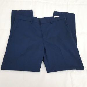 Perry Ellis Modern Fit Pants Mens 34 x 30 Blue